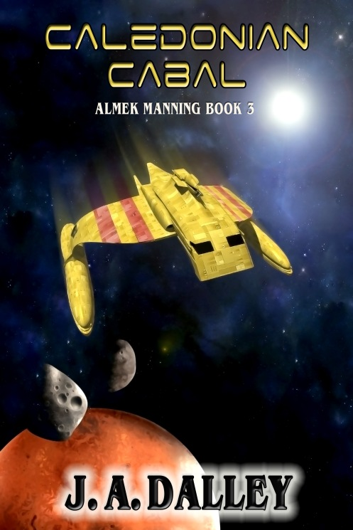 Cover for Caledonian Cabal: Almek Manning Book 3
